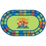 oval rug product image