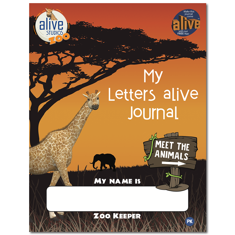 My Letters Alive Journal Cover