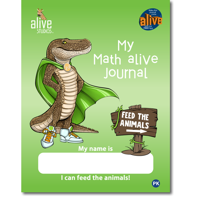 Math alive Cover Product Image