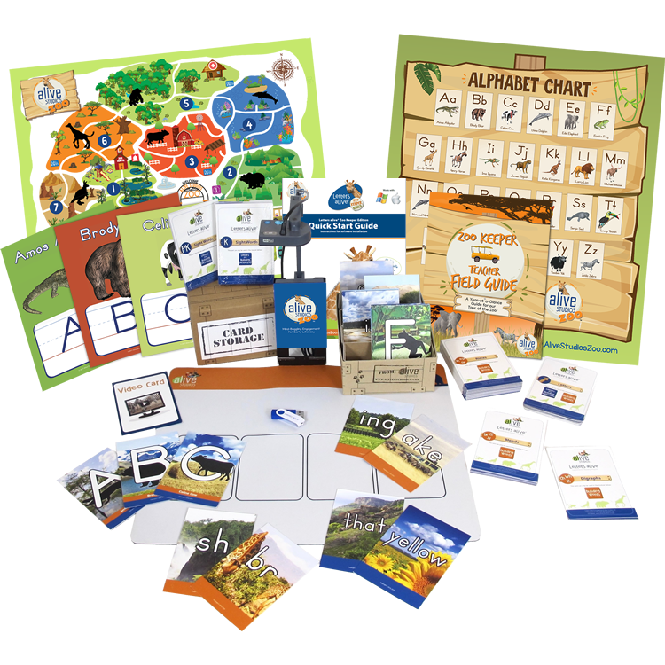 Learning alive Zoo Keeper Edition